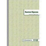 Exacompta - Réf. 13500E - 1 Manifold Recettes dépenses 29,7x21cm 50 feuillets dupli autocopiants