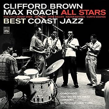 Clifford Brown / Max Roach All Stars. Best Coast Jazz