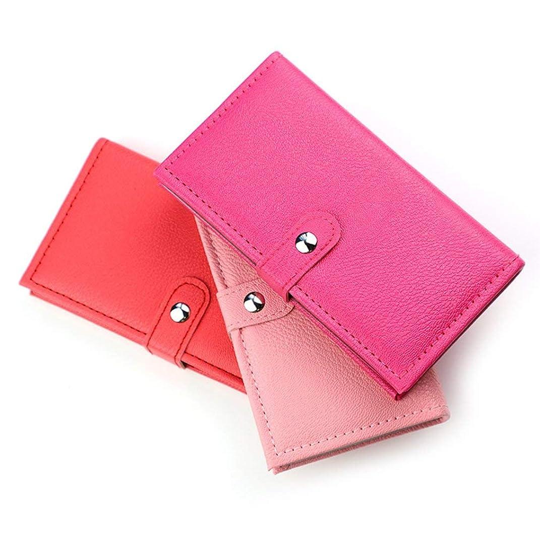 ワイプキウイ敗北33色のレザーバッグ組み合わせ化粧箱アイシャドウプレートアイシャドウブラッシュピンク粉末カラー化粧トレイ