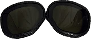 M40 GAS MASK REPLACEMENT LENS COVERS OUTSERTS SMOKE TINTED
