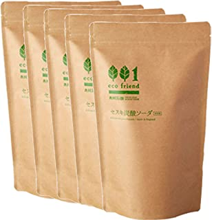 木村石鹸 洗濯用・住居用洗浄剤 ナチュラルクリーニング エコフレンド セスキ炭酸ソーダ 1kg×5個セット