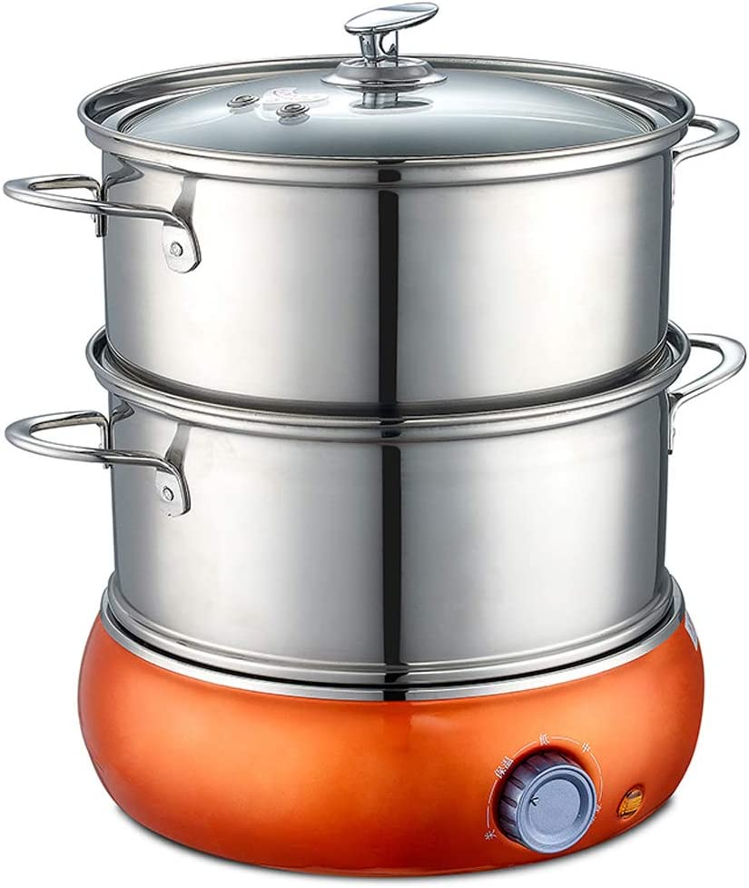 3 Speed Thermostat Egg Cooker Fresno Mall 350W Seasonal Wrap Introduction Stainless Steel Multi Layer 2