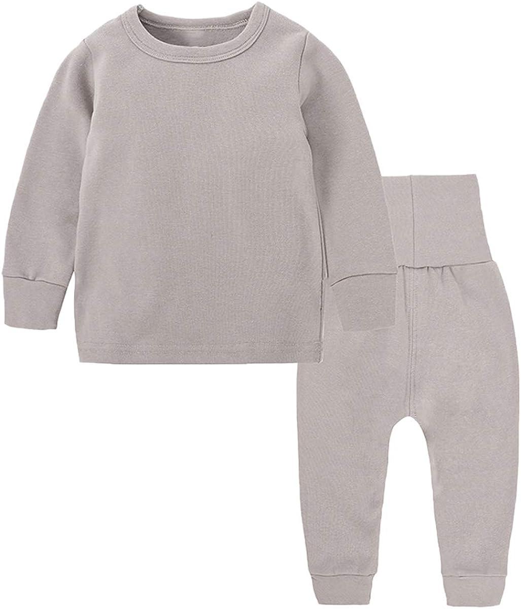 Toddler Boy's Thermal Underwear Set Base Layer Top & Bottom Set, Gray# 1, 3-4T = Tag 120