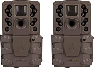 Moultrie A-25i 12MP Low Glow Infrared Game Camera (2 Pack)
