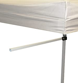 Impact Awning and Banner Bracket Set for Instant Pop-Up Canopy Tents