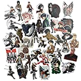 AMOYER 42PCS / 1 Attacco Sacco su Titano Sticker Anime Icona Adesivi Animali Regali per i Bambini al Computer Portatile Valigia Adesivi Auto
