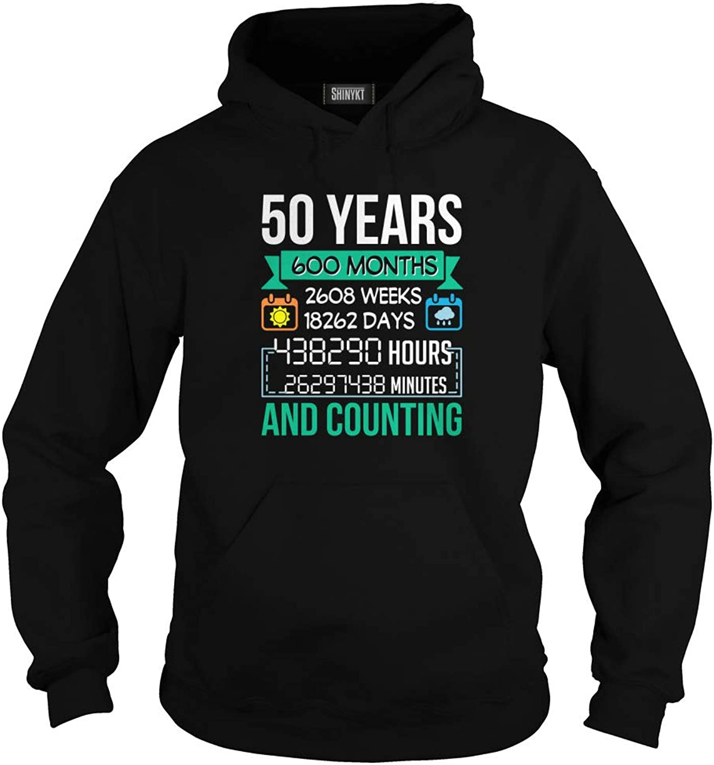 ShinyKT 50 Years 600 Months 2608 Weeks Day Hour and Counting