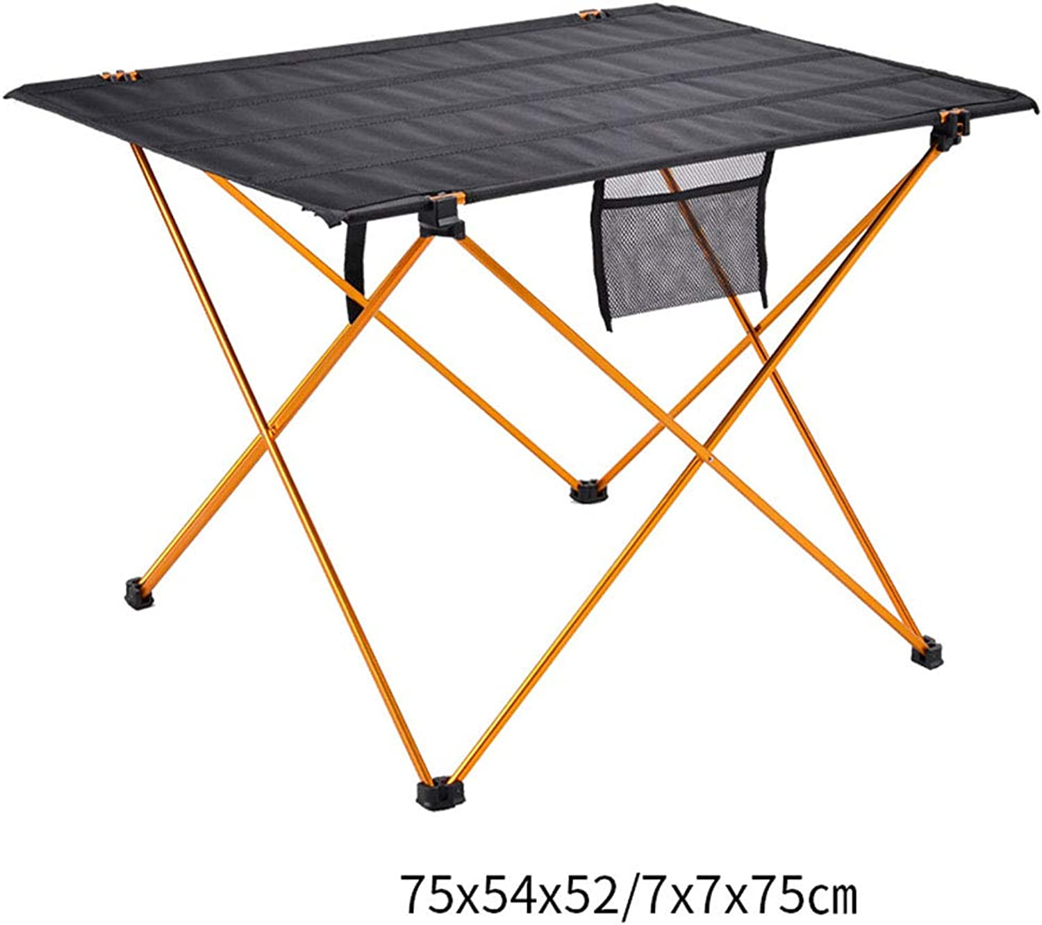 Camping Folding Table, Lightweight Portable Picnic Table Folding Roll Up Tables with Carry Bag for Camping Travel Beach Picnic (color   B)