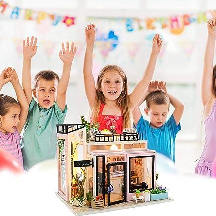 Fai da Te Modello di Costruzione di Modello di casa di Piccole Dimensioni Assemblaggio di Giocattoli Artigianali Fatti a Mano di Stile Moderno - Trova i prezzi più bassi