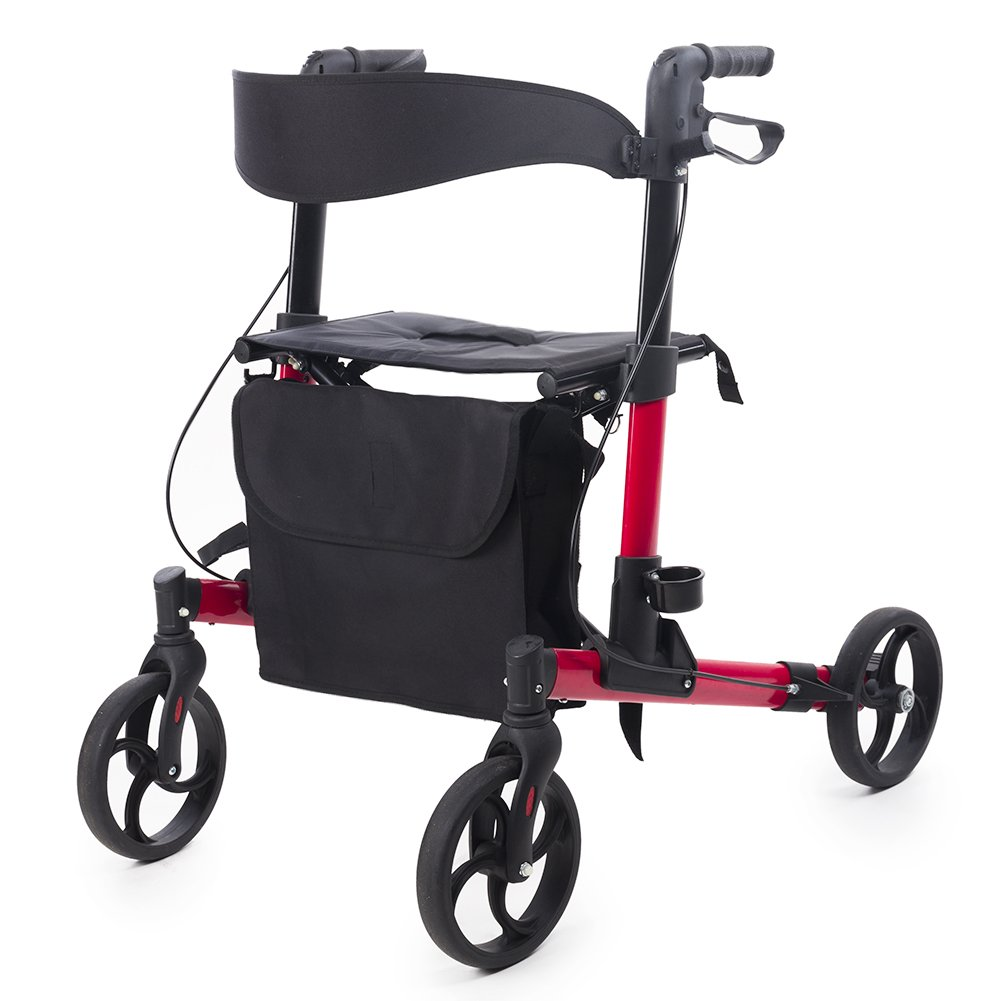 ELENKER Portable Medical Rollator Compact