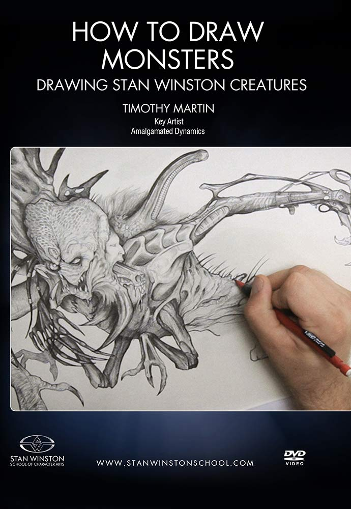 How to 2021 autumn and winter new Deluxe Draw Monsters - Stan Creatures Drawing Winston