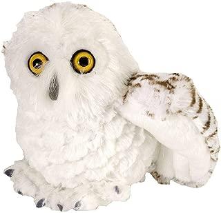 Wild Republic Snowy Owl Plush, Stuffed Animal, Plush Toy, Gifts for Kids, Cuddlekins 8 Inches
