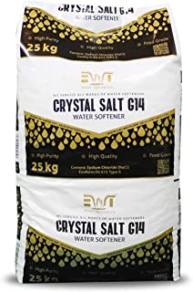 Cristales de 25 Kg Sal para descalcificadores de agua