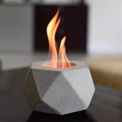 Colsen Tabletop Rubbing Alcohol Fireplace Fire Pit Portable