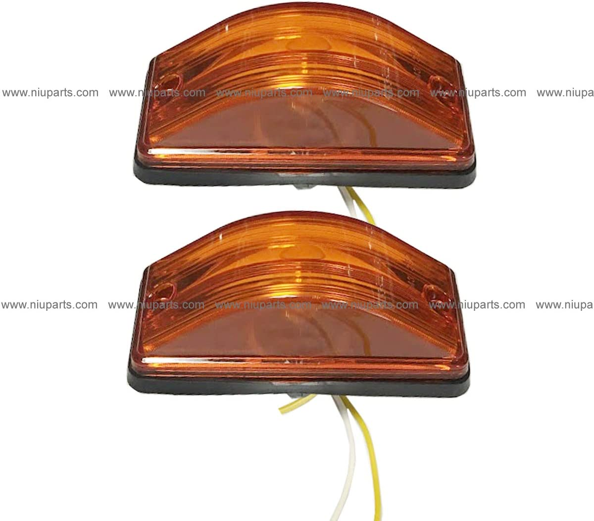 2 pcs of Behind Fender Cab 国内送料無料 Marker with アイテム勢ぞろい Light Turn Signal Rubber