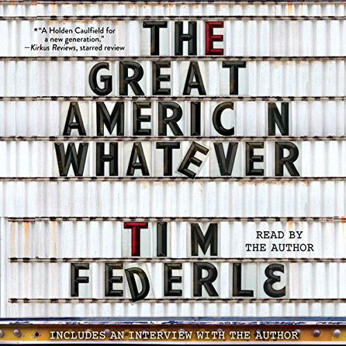 The Great American Whatever audiobook cover art