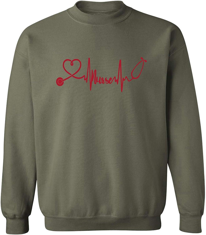 Love Nurses Crewneck Sweatshirt
