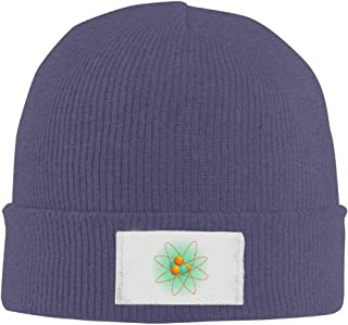 Mens Womens Knit Beanie Hats Nuclear Chemical Molecular Structure Warm Winter Skull Caps
