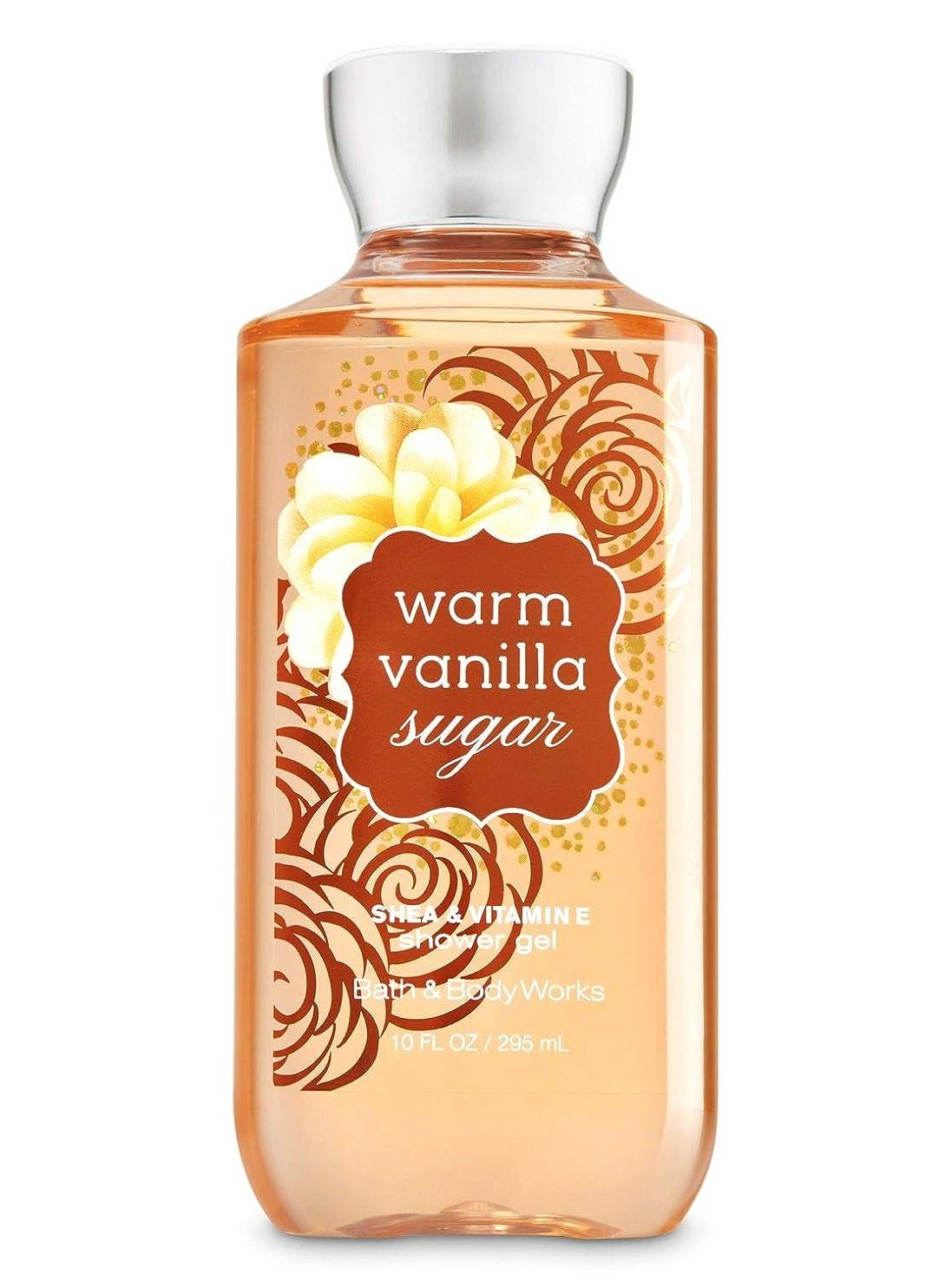 格納安全囚人Bath & Body Works  シャワージェル-Warm Vanilla Sugar*???? ?????????【並行輸入品】