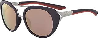 EV1015-515 Flex Motion R Sunglasses (Frame Light Brown with ML Rose Gold Lens), Matte Cave Purple