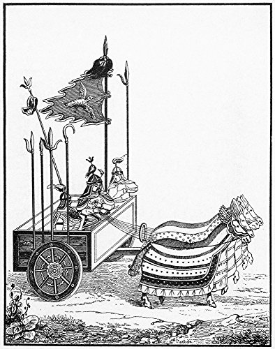 Chinese War Chariot Na War Chariot Of The Type Utilized By Genghis KhanS Chinese Opponents After A Chinese Drawing Of The Time 12Th Century Poster Print by (18 x 24)