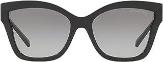 MK2072 333211 Black Barbados Square Sunglasses Lens...