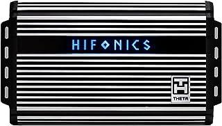 $249 » Hifonics ZTH-1625.5D Zeus Theta Compact Five Channel Car Audio Amplifier (Silver) – Class D Amp, 1600-Watt, Onboard Electr...