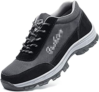 SHANLEE Steel Toe Shoes Men's Safety Work wear Shoes Casual Breathable Shoes