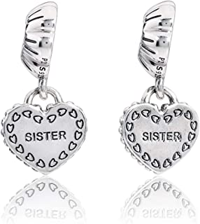 My Special Sister Silver Dangle Charm 791383