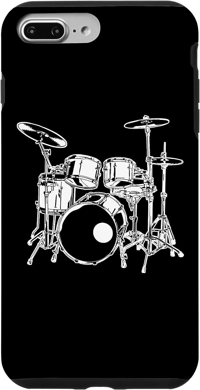 iPhone 7 Plus/8 Plus Rock Music Drummer Drum Kit Case