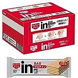ナッツ味 内容量:12本入×1箱 原材料に含まれるアレルギー物質(27品目中):小麦・乳・大豆 商品サイズ (幅X奥行X高さ) : 170×135×95 栄養成分 : 1本あたり:熱量 189kcal、たんぱく質 10.0g、脂質 9.8g、炭水化物 15.1g、ナトリウム 96mg、ビタミンB1 0.49-0.81mg、ビタミンB2 0.53mg、ビタミンB6 0.55mg、ビタミンB12 0.8-2.4μg、ナイアシン 8.0mg、葉酸 80-240μg、パントテン酸 2.5mg