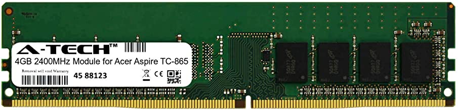 A-Tech 4GB Module for Acer Aspire TC-865 Desktop & Workstation Motherboard Compatible DDR4 2400Mhz Memory Ram (ATMS267503A25815X1)
