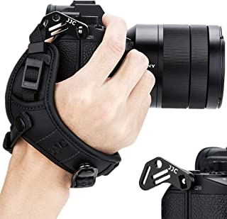 JJC - Correa de Mano para cámara Sony A6000 A6300 A6400 A6500 A5100 A5000 A7RIII A7RII A7SII A7II A7R A7S A7 A9 RX1 RX1R RX1RII RX10 II III IV A99II A77II A99 A77 A68 HX350 HX400V H400