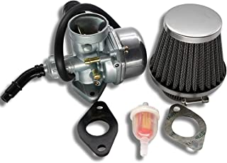Sibaken PZ19 Carburetor with Air Filter for Kazuma Taotao Baja Polaris Roketa SUNL Honda XR/CRF 50cc 70cc 90cc 110cc 125cc Dirt Pit Bike Go Kart