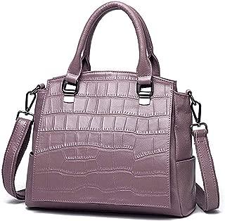 Yyqt Ladies Fashion Bag,Top-Handle Shoulder Purses for Women, Leather Shoulder Bucket Handbag, Vintage Shoulder Bags for Ladies