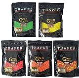 Traper Gold Series Particle Partikel Lockfutter Zusatzfutter Angelfutter 400g (gelb)