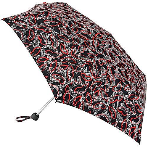 Lulu Guinness Minilite - Paraguas plegable, diseño de lunares