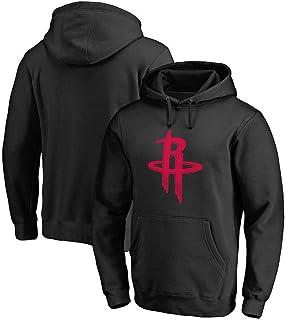 Felpa con cappuccio con logo Team Mitchell /& Ness Houston Rockets da uomo