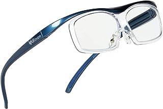 Kenko メガネ型拡大鏡 YUIルーペ レンズ交換式 ラージサイズ 倍率1.6倍 ブルー KTL-5105L-BL