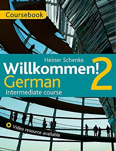 Willkommen 2 German Intermediate course Course Pack product image