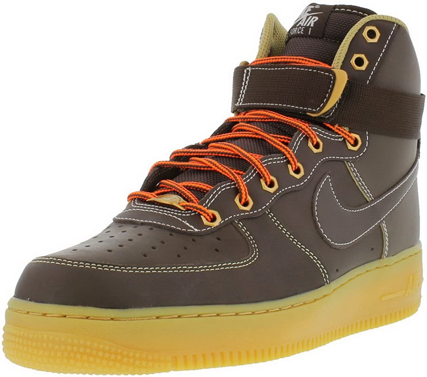 Nike Men's Air Force 1 High 315121-203 Trainers Brown
