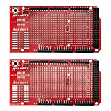 Gikfun Prototype Shield DIY Kit A1 for Arduino Mega 1280 2560 R1 - R3 (Pack of 2pcs) EK1096x2