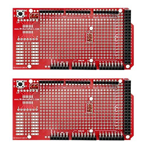 Gikfun Prototype Shield DIY Kit A1 for Arduino Mega 1280 2560 R1 - R3 (Pack of 2pcs) EK1096x2