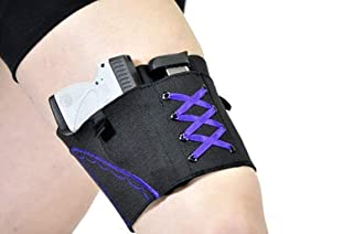 DMAIP Thigh Tactical Sexy Woman Garter Case Black Holsters for Weapons PT-22. 22 Caliber TCP. 380 Revolver Bag