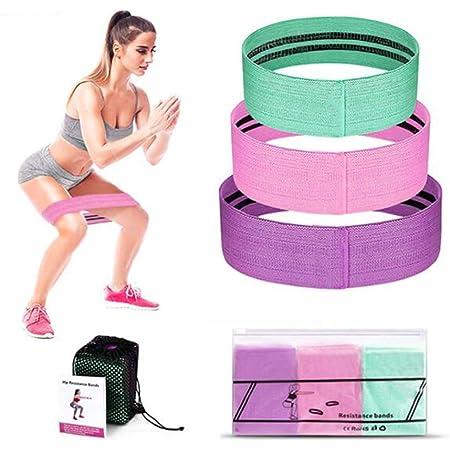 Límite-MX Bandas de Resistencia Set, Bandas de ejercicio de resistencia mejoradas para piernas y nalgas, Bandas de Círculo Ejercicio Para Piernas Y Glúteos Gruesos, Bandas De Resistencia En Látex Natural para Deporte Ejercicios Rehabilitación Yoga