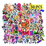 Cartoon Game Stickers(50Pcs Large Size)Gifts Cartoon Game Merchandise Toys Party Supplies Decals for Laptop Water Bottle Skateboard Graffiti Teens