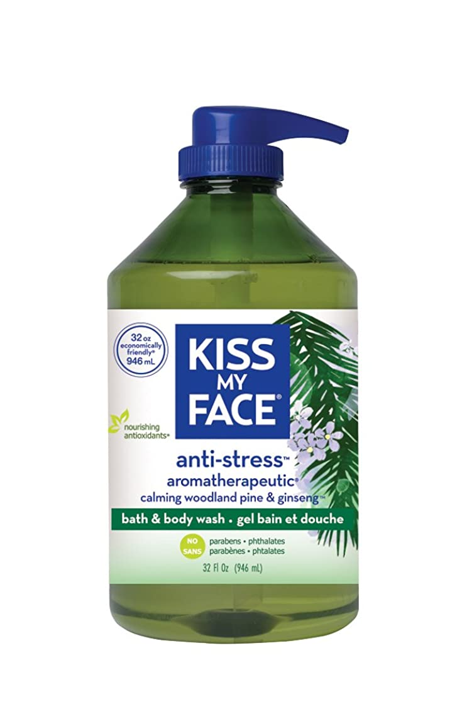 コショウかなりクレデンシャル海外直送品Kiss My Face Anti-Stress Shower Gel, 32 oz