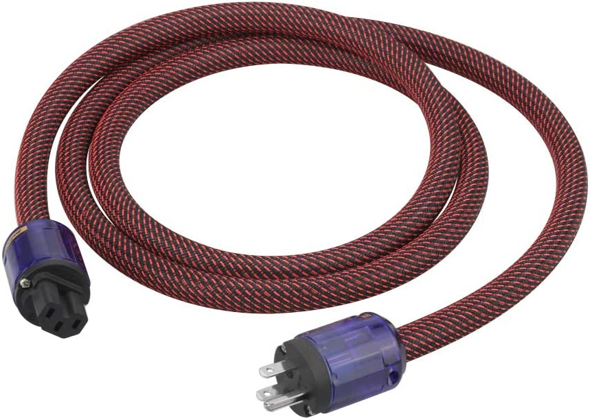 Audiocrast High Fidelity Power Cable OFC 10AWG OD:17MM Conduc Super intense Brand Cheap Sale Venue SALE