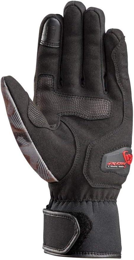 paire de gants moto Pro Russel noir camo rouge Taille S//8 IXON