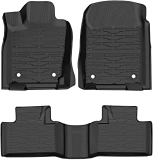 Cosilee Floor Mats Compatible for Jeep Grand Cherokee (2016-2020),All Weather Protector TPE Front & Rear Row Floor Liners ...